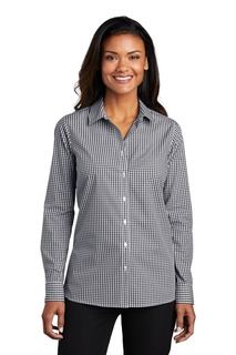 Port Authority ® Ladies Broadcloth Gingham Easy Care Shirt-Port Authority