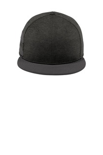 New Era Shadow Heather Striped Flat Bill Snapback Cap-