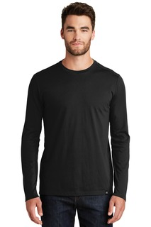 New Era ® Heritage Blend Long Sleeve Crew Tee.-New Era