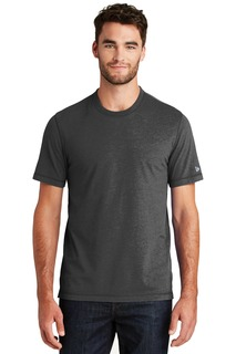 New Era Sueded Cotton Blend Crew Tee.-