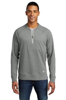 New Era ® Sueded Cotton Blend 1/4-Zip Pullover-