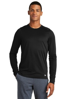 New Era ® Series Performance Long Sleeve Crew Tee.-New Era