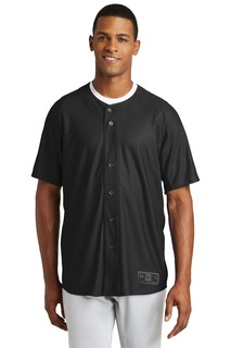 New Era Diamond Era Full-Button Jersey.-