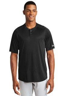 New Era Hospitality Activewear ® Diamond Era 2-Button Jersey.-New Era