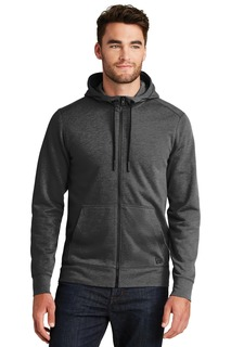 New Era ® Tri-Blend Fleece Full-Zip Hoodie-
