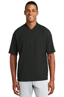 New Era Cage Short Sleeve 1/4-Zip Jacket.-New Era