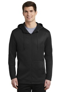 Nike Therma-FIT Full-Zip Fleece Hoodie.-Nike