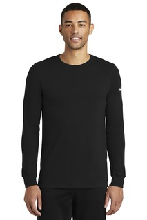 Nike Dri-FIT Cotton/Poly Long Sleeve Tee.-