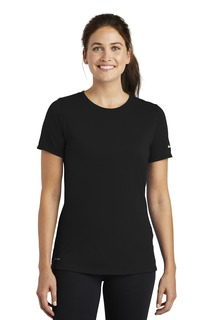 Nike Ladies Dri-FIT Cotton/Poly Scoop Neck Tee.-Nike