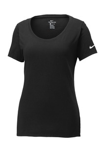 Limited Edition Nike Ladies Core Cotton Scoop Neck Tee.-Nike