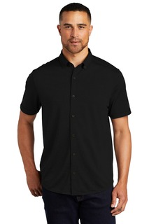 OGIO Gravitate Full-Button Polo.-