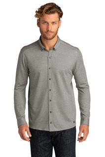 OGIO Code Stretch Long Sleeve Button-Up.-