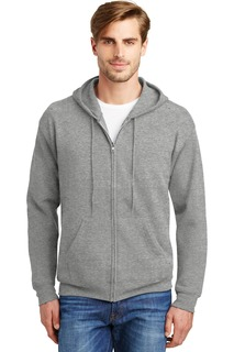 Hanes® - EcoSmart® Full-Zip Hooded Sweatshirt.-
