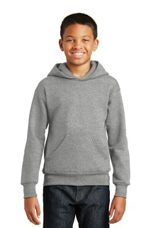 Hanes® - Youth EcoSmart® Pullover Hooded Sweatshirt.-