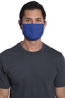 Port Authority Cotton Knit Face Mask (5 Pack).-Port Authority