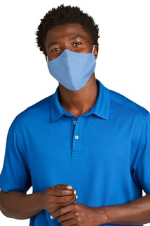 Port Authority® Woven Face Mask (5 pack).-Port Authority