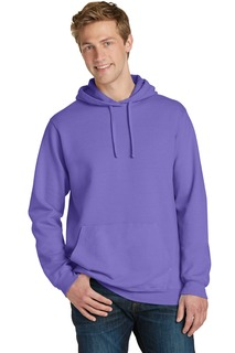Port & Company® Beach Wash Garment-Dyed Pullover Hooded Sweatshirt.-