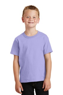 Port & Company® Youth Beach Wash Garment-Dyed Tee.-