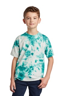 Port & Company Youth Crystal Tie-Dye Tee-