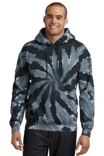 Port & Company® Tie-Dye Pullover Hooded Sweatshirt.-Port & Company