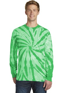 Port & Company Tie-Dye Long Sleeve Tee.-