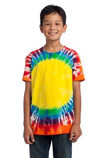 Port & Company Hospitality Shirts Mens Port & Company® - Youth Window Tie-Dye Tee.-Port & Company