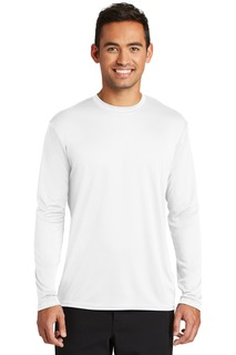 Port & Company ® Long Sleeve Performance Tee.-Port & Company
