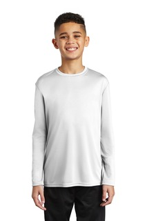 Port & Company Youth Long Sleeve Performance Tee-