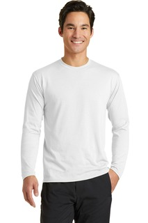 Port & Company® Long Sleeve Performance Blend Tee.-