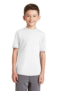 Port & Company Youth Performance Blend Tee.-