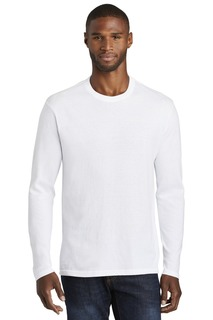 Port & Company ® Long Sleeve Fan Favorite Blend Tee.-Port & Company