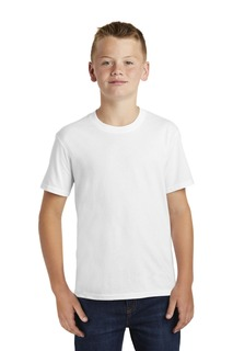 Port & Company Youth Fan Favorite Blend Tee.-