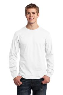 Port & Company® - Long Sleeve Core Cotton Tee.-