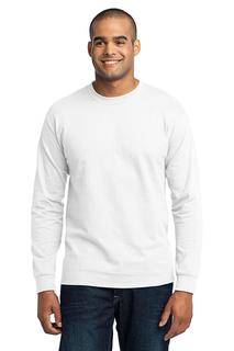 Port & Company® Tall Long Sleeve Core Blend Tee.-