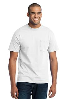 Port & Company® Tall Core Blend Pocket Tee.-