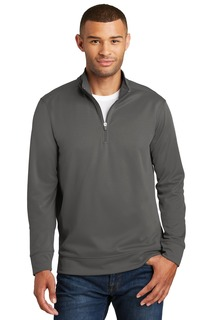 Port & Company®Performance Fleece 1/4-Zip Pullover Sweatshirt.-Port & Company