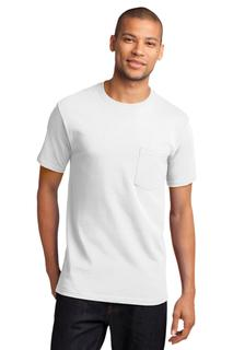 Port & Company® - Tall Essential Pocket Tee.-