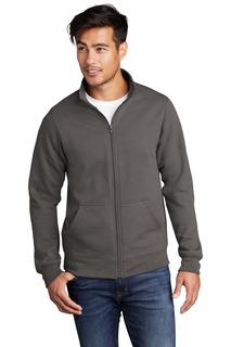 Port & Company ® Core Fleece Cadet Full-Zip Sweatshirt-