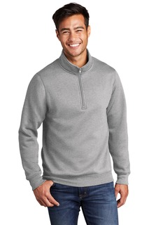Port & Company Core Fleece 1/4-Zip Pullover Sweatshirt-