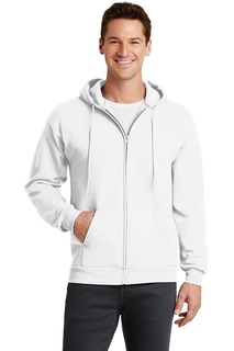 Port & Company® - Core Fleece Full-Zip Hooded Sweatshirt.-