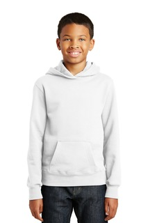 Port & Company® Youth Fan Favorite Fleece Pullover Hooded Sweatshirt.-