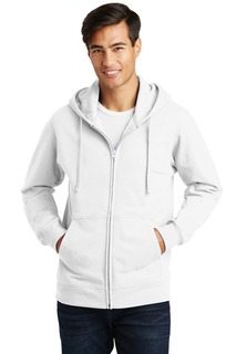 Port & Company Fan Favorite Fleece Full-Zip Hooded Sweatshirt.-