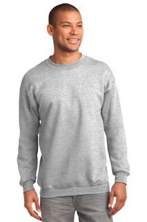 Port & Company Tall Essential Fleece Crewneck Sweatshirt.-