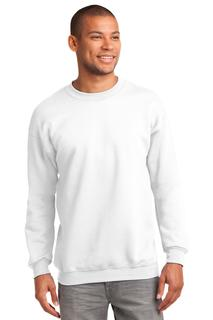 Port & Company® Tall Essential Fleece Crewneck Sweatshirt.