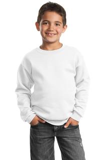 Port & Company® - Youth Core Fleece Crewneck Sweatshirt.-Port & Company