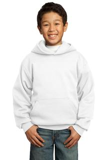 Port & Company® - Youth Core Fleece Pullover Hooded Sweatshirt.-Port & Company
