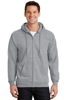Port & Company® - Essential Fleece Full-Zip Hooded Sweatshirt.-