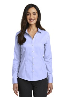 Red House Ladies Woven Shirts for Hospitality- ® Ladies Pinpoint Oxford Non-Iron Shirt.-Red House