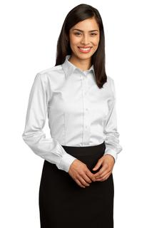 Red House® - Ladies Non-Iron Pinpoint Oxford Shirt.-Red House