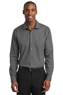 Red House Slim Fit Nailhead Non-Iron Shirt.-
